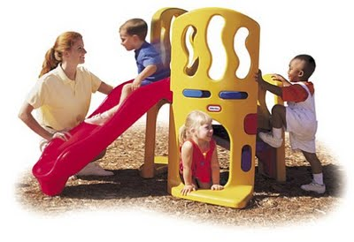 Little Tikes Hide & Slide Climber for kids