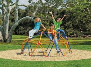 easy outdoor space dome climber for kids