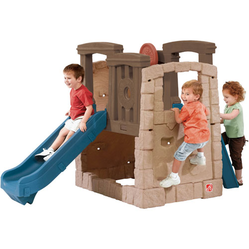 Outdoor Toys For Preschoolers : Step naturally playful woodland climber